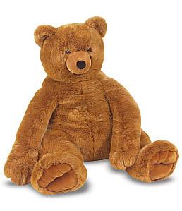 М'яка іграшка великий плюшевий ведмедик (р. 76 см х 69 см) ТМ Melіssa & Doug Коричневий MD12138
