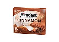 Жевательная резинка без сахара AIMDENT 12 КОРИЦА 33 г x 12 шт (представлены вкусы в ассортименте)
