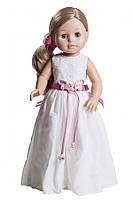 Кукла Paola Reina Эмма в белом платье 40 см в брендовой коробке