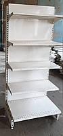 Торговые стеллажи 670 мм. бу, горки, прилавки, стенды, полки, оборудование бу