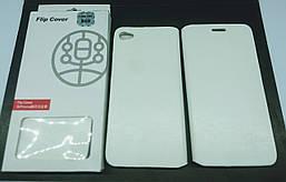 Чехол-книжка Flip Cover для Lenovo S60 White