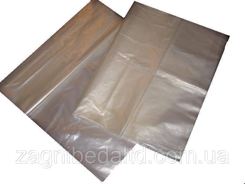 Пакет полиэтиленовый  второй сорт 60 мкм 30 см х 25 см