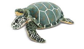 Мягкая игрушка морская плюшевая черепаха (длинна более 90 см) ТМ Melissa & Doug MD12127