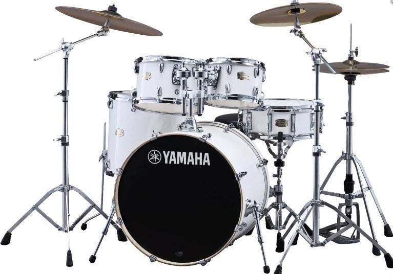Ударная установка YAMAHA Stage Custom Birch (Pure White)