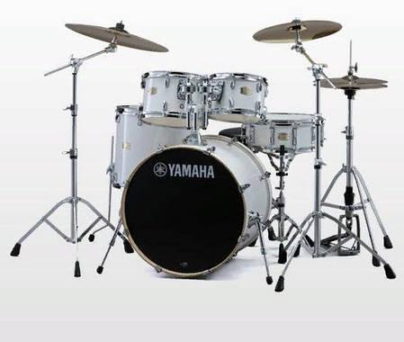 Ударная установка YAMAHA Stage Custom Birch (Pure White), фото 2