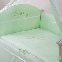Комплект Golden Baby зеленый 7 пр, фото 2