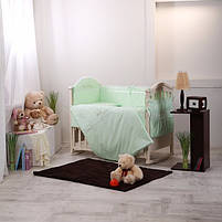 Комплект Golden Baby зеленый 7 пр, фото 3
