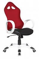 Кресло Матрикс-2 Белый, сиденье Сетка черная/спинка Сетка красная (AMF-ТМ)
