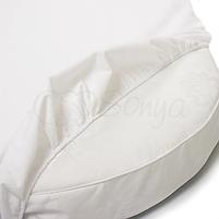 Наматрасник непромокаемый в овальную кроватку 70х120, фото 2