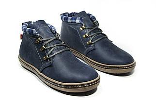 Зимние ботинки (на меху) мужские Switzerland (реплика)13030 ⏩ [ 41,42,43 ], фото 3