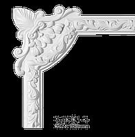 Угловой элемент Classic Home 3-0501-5 , лепной декор из полиуретана 327*33