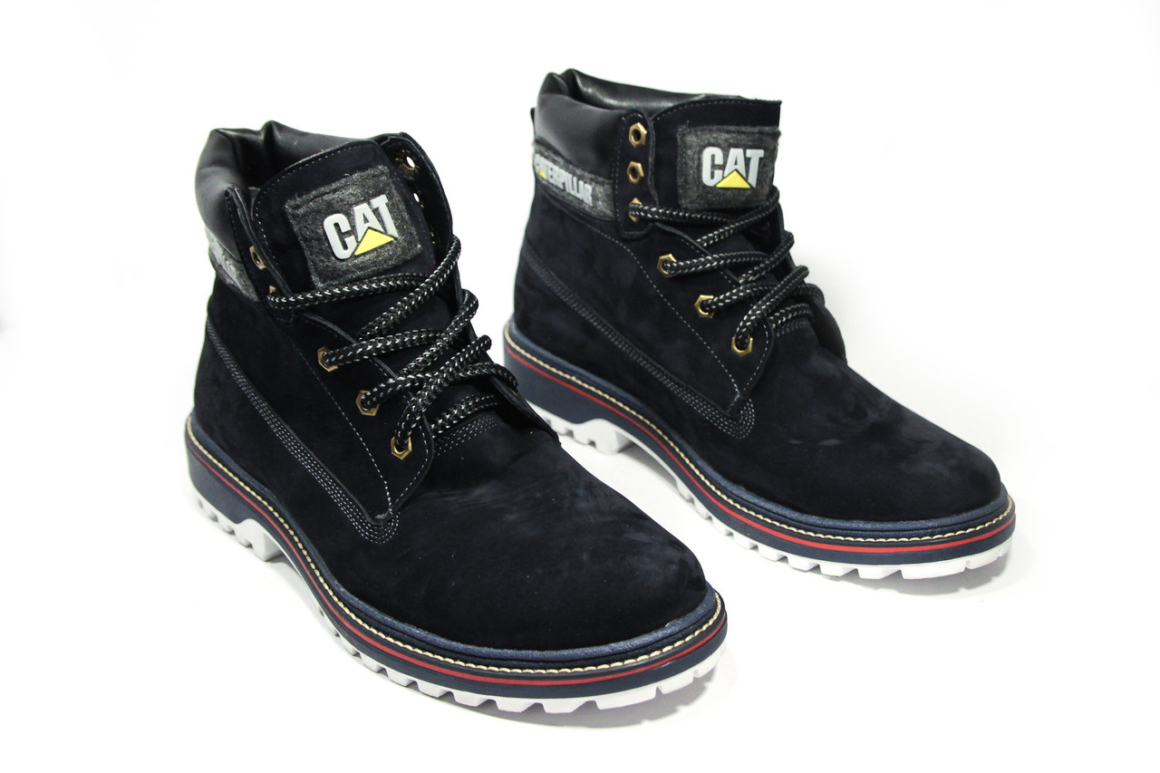 Зимние ботинки (на меху)  мужские CAT 13037 ⏩ [ 41,45 ]