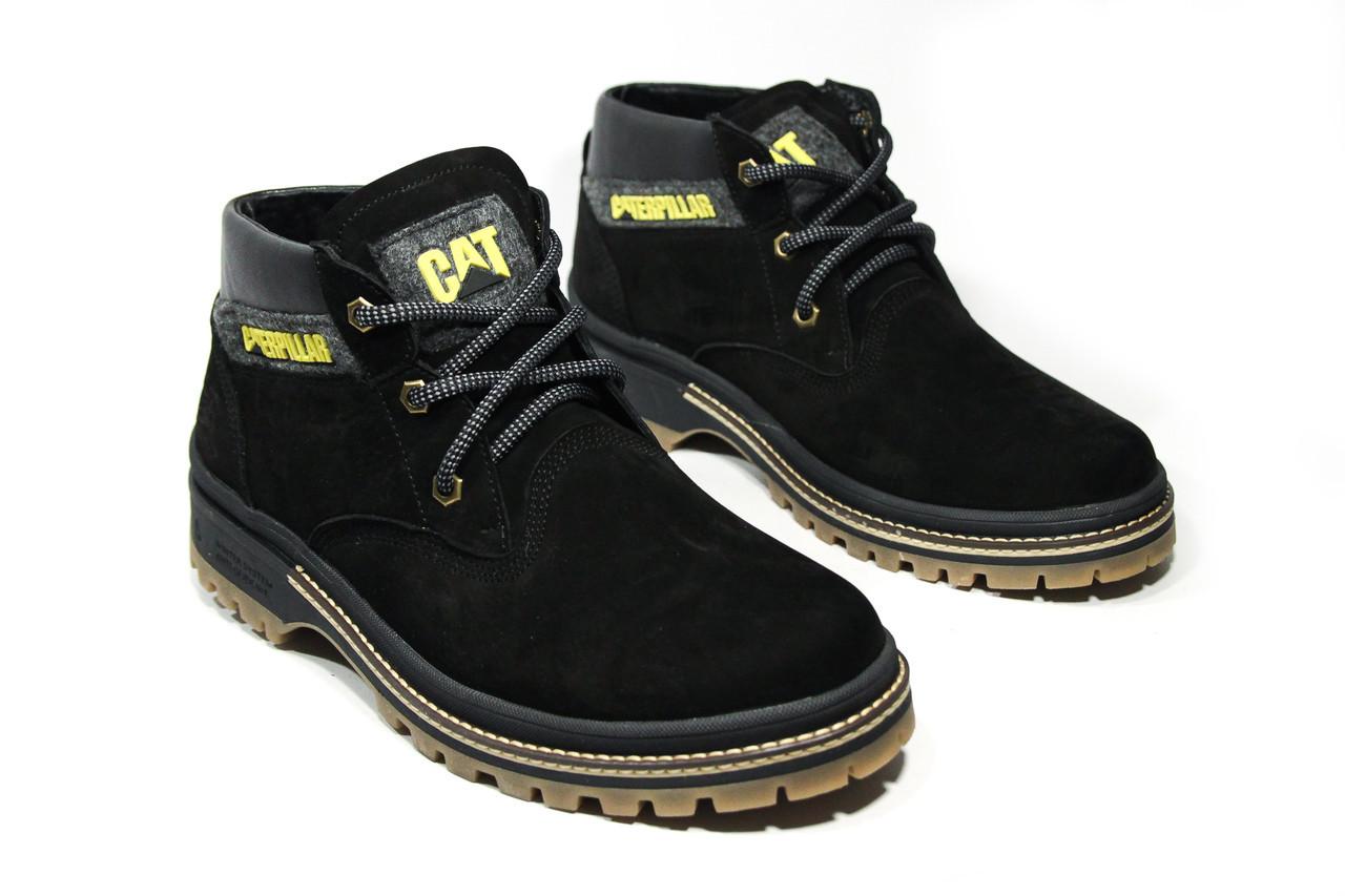 Зимние ботинки (на меху) мужские CAT (реплика) 13044 ⏩ [ 41,43,43,44 ]