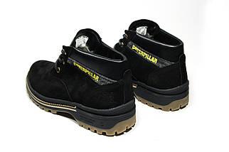 Зимние ботинки (на меху) мужские CAT (реплика) 13044 ⏩ [ 41,43,43,44 ], фото 3