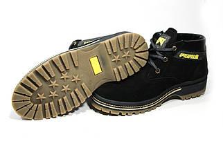 Зимние ботинки (на меху) мужские CAT (реплика) 13044 ⏩ [ 41,43,43,44 ], фото 2