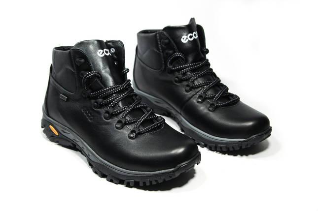 Зимние ботинки (на меху) мужские ECCO (реплика) 13040 ⏩ [ 43,44,45 ], фото 2