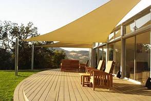Затеняющая сетка 150 г/м² (тень 75%), 3,0х50 м, HDPE, beige, фото 2