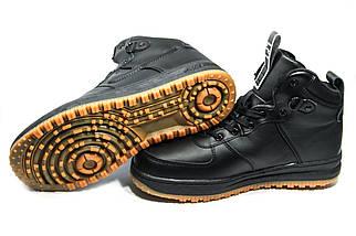 Зимние ботинки (на меху)  мужские Nike AF1 (реплика) 1-031 ⏩ [ 42,45 ], фото 3