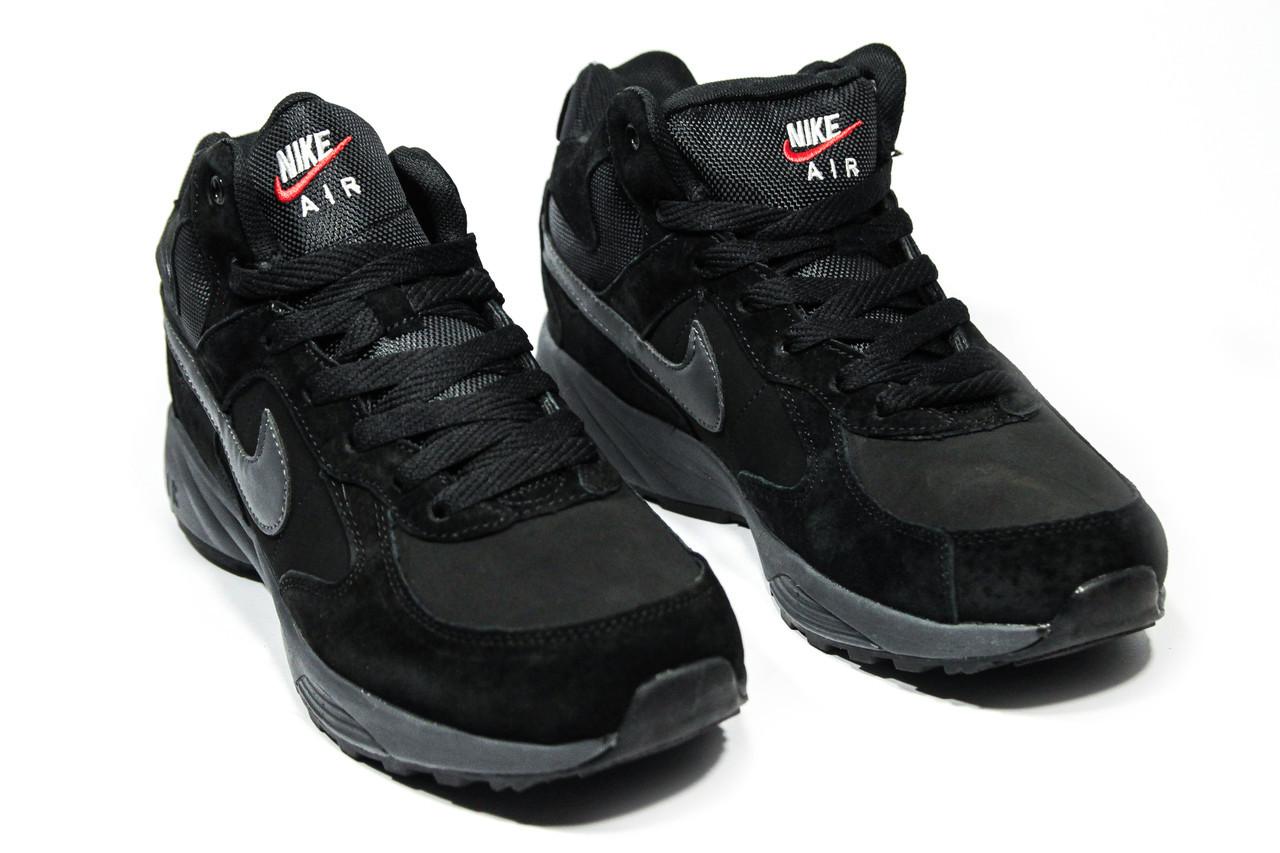 Зимние ботинки (на меху) мужские Nike Air 1-043 ⏩ [ 41,42.43,43,45,46 ]