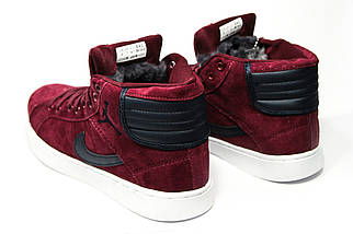 Зимние кроссовки (НА МЕХУ) мужские Nike Air Jordan (реплика)  1-092 ⏩ [ 41,42 ], фото 2