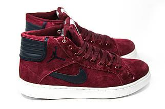 Зимние кроссовки (НА МЕХУ) мужские Nike Air Jordan (реплика)  1-092 ⏩ [ 41,42 ], фото 3