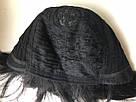 🤵♀️ Мужской черный натуральный парик, короткий, из 100% натуральных волос, фото 8
