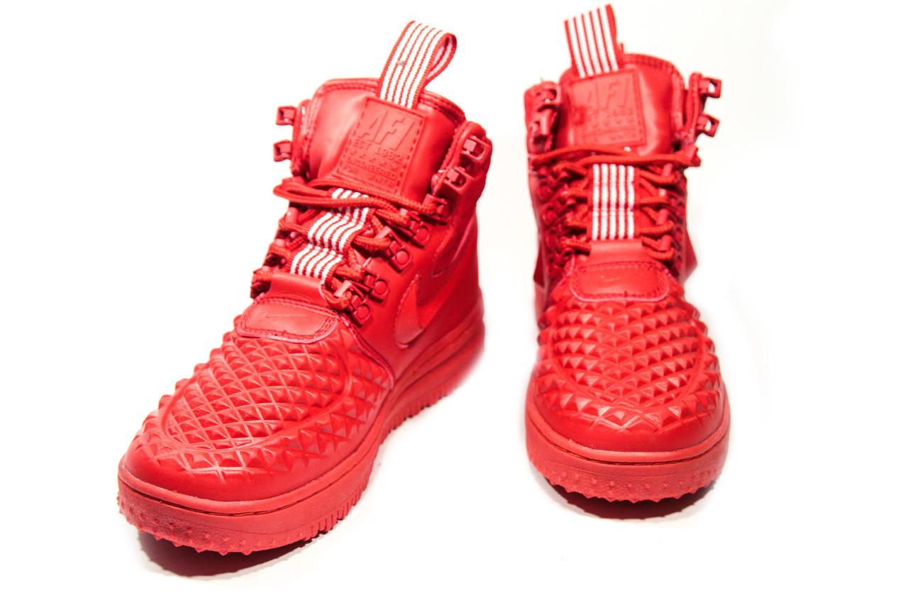 Зимние кроссовки (НА МЕХУ) женские Nike AF1 (реплика) 1-018  ⏩ [ 41> ]