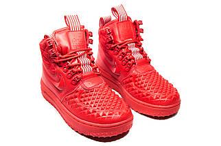 Зимние кроссовки (НА МЕХУ) женские Nike AF1 (реплика) 1-018  ⏩ [ 41> ], фото 2