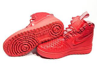 Зимние кроссовки (НА МЕХУ) женские Nike AF1 (реплика) 1-018  ⏩ [ 41> ], фото 3