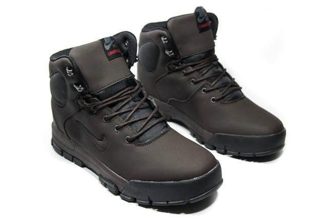 Зимние ботинки (на меху) мужские Nike Air Lunarridge (реплика) 1-021  ⏩ [ 41,42,43,44,44,45 ], фото 2