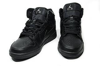 Зимние кроссовки (на меху) мужские Nike Air Jordan (реплика) 1-067 ⏩ [ 41,46 ], фото 3