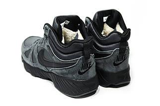 Зимние ботинки (на меху) мужские Nike Air Max (реплика) 1-087 ⏩ [ 41,42,43,44,44,45 ], фото 2