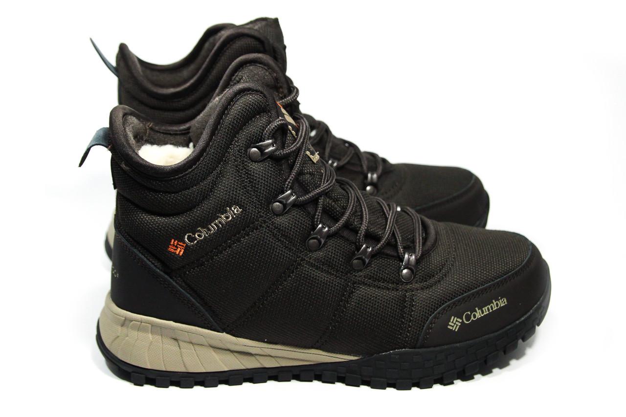 Зимние ботинки (на меху) мужские Columbia (реплика) 12-108 ⏩ [ 42,46]