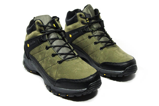 Зимние ботинки (на меху) мужские Columbia (реплика) 12-136 ⏩ [ 41,42,44,44,46 ], фото 2