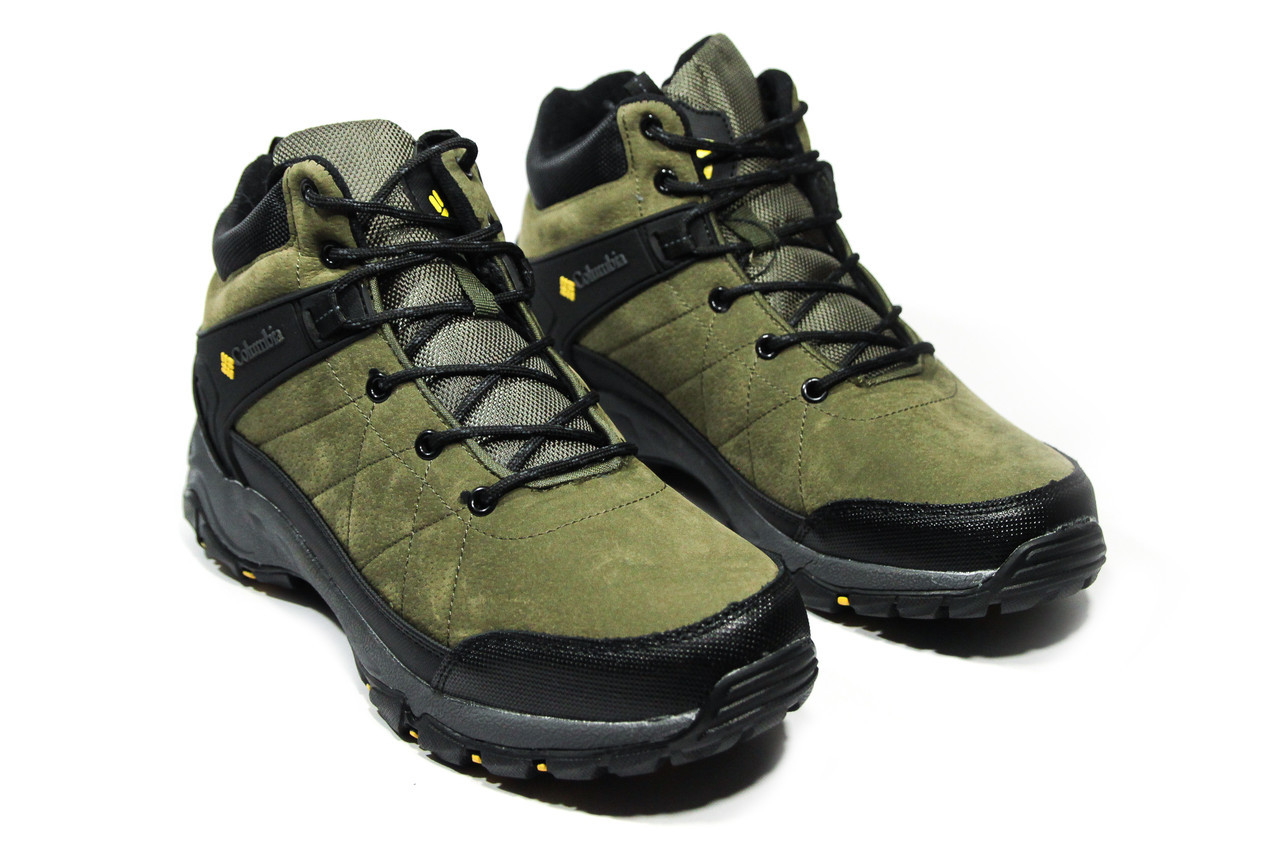 Зимние ботинки (на меху) мужские Columbia (реплика) 12-136 ⏩ [ 41,42,44,44,46 ]