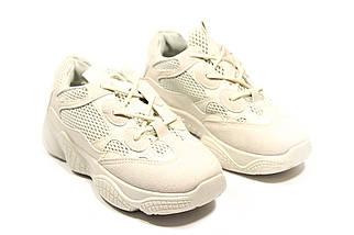 Кроссовки женские Adidas Yeezy 500 Desert Rat Blush  (13-017) ⏩ [ 37.37,39 ], фото 2
