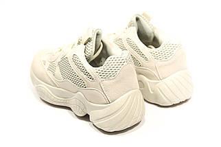 Кроссовки женские Adidas Yeezy 500 Desert Rat Blush  (13-017) ⏩ [ 37.37,39 ], фото 3