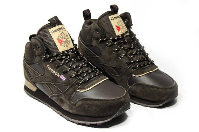 Зимние кроссовки (на меху) мужские Reebok Classic  2-086 ⏩ [ 43,44,44,44,45,46 ], фото 2