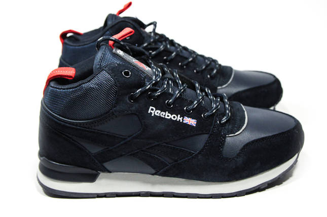 Зимние кроссовки (на меху) мужские Reebok Classic (реплика) 2-161 ⏩ [ 41,42,43,44,45,46 ], фото 2