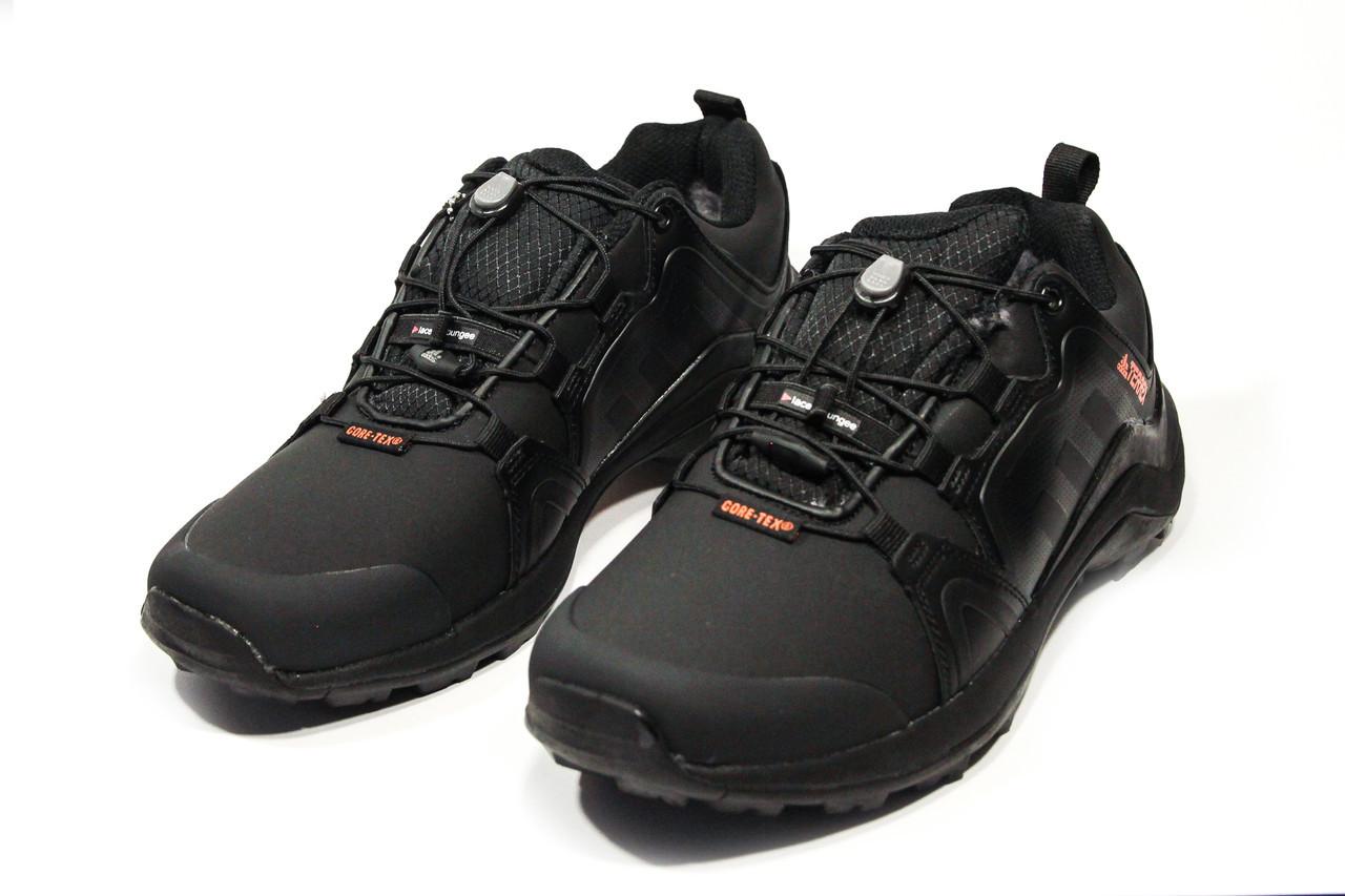 Зимние ботинки (на меху) мужские Adidas Terrex (реплика) 3-079 ⏩ [ 41,42,42,43,44 ]
