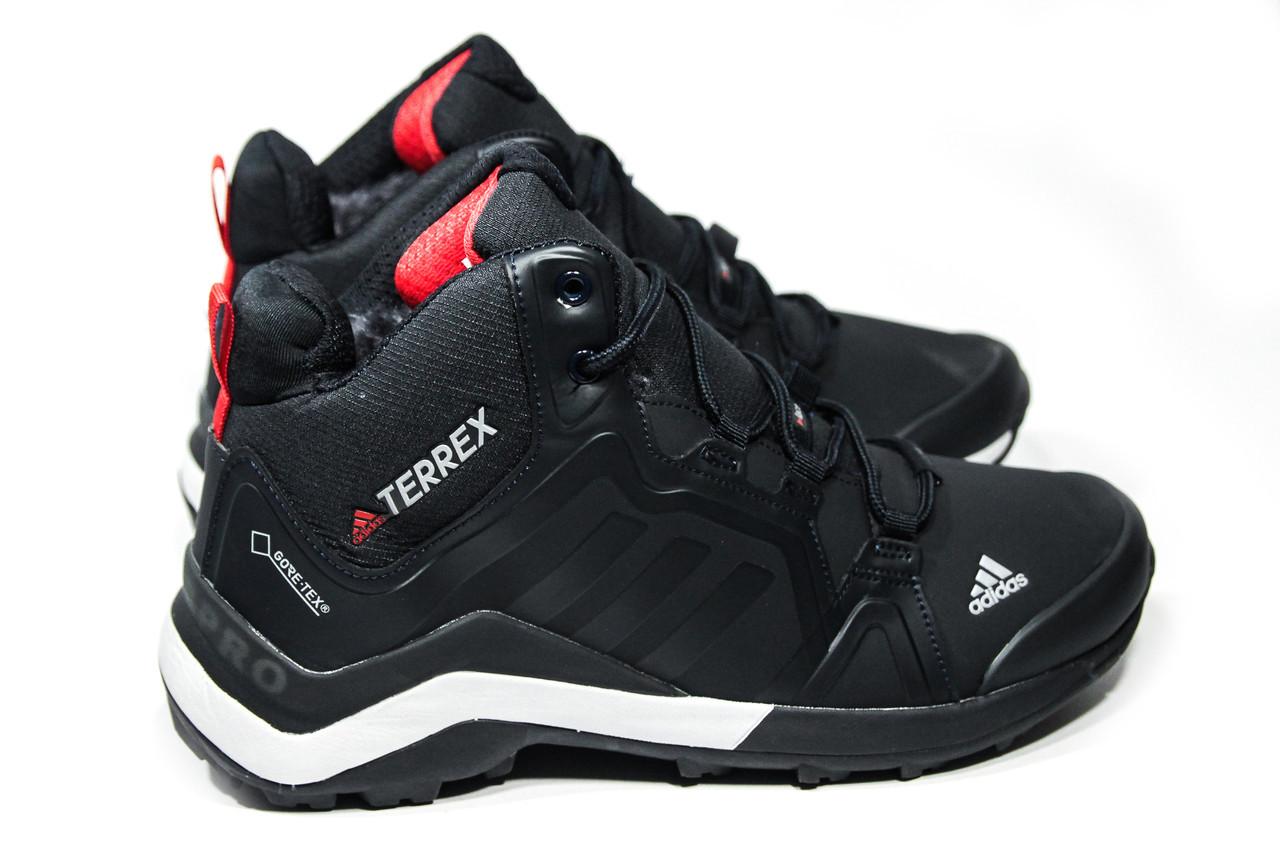 Зимние ботинки (на меху) мужские Adidas TERREX (реплика) 3-082 ⏩ [ 43,44]