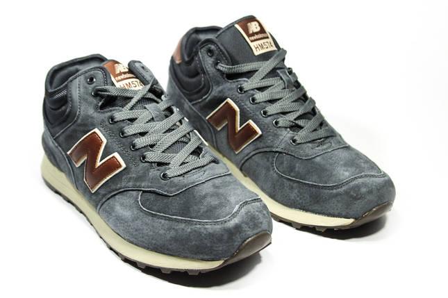 Зимние кроссовки (на меху) мужские New Balance 574 (реплика) 4-126 ⏩ [ 43,45 ], фото 2