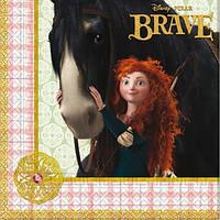 Салфетки Мерида Отважная 10 штук Лицензия Disney/Pixar