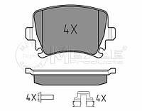 Meyle 025 239 1417 Колодки тормозные задние Volkswagen Caddy