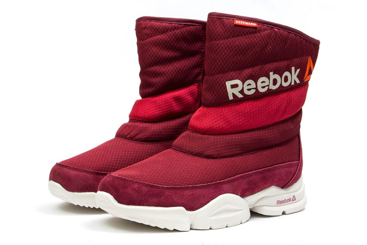 Зимние женские ботинки Reebok  Keep warm (реплика) 2-202 ⏩ [ 39,40,40 ]