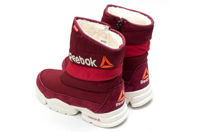 Зимние женские ботинки Reebok  Keep warm (реплика) 2-202 ⏩ [ 39,40,40 ], фото 2