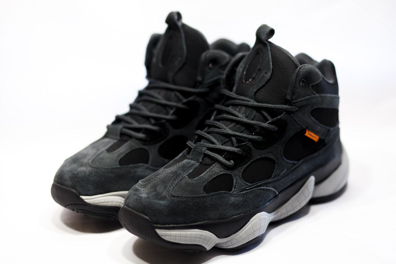 Зимние мужские ботинки Adidas Primaloft (реплика) 3-201 ⏩ [ 46> ]