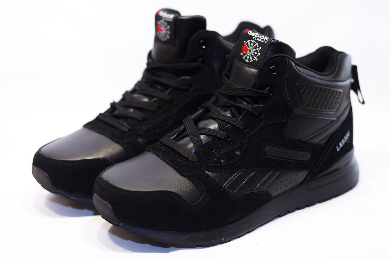 Зимние ботинки (на меху) мужские Reebok Classic LX8500 (реплика)  2-205 ⏩ [ 42,42,45,46 ]