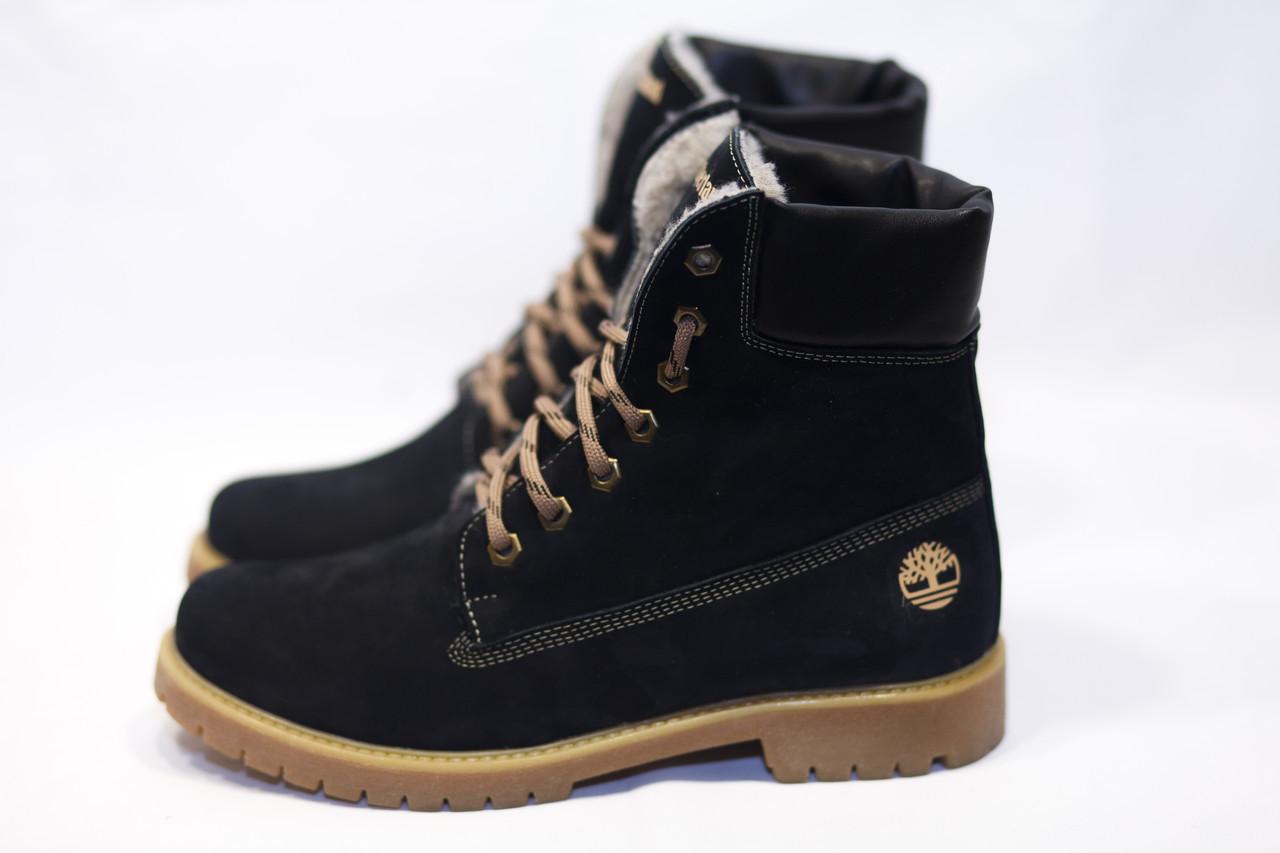 Зимние ботинки  (на меху) женские Timberland (реплика) 13055 ⏩ [ 41]