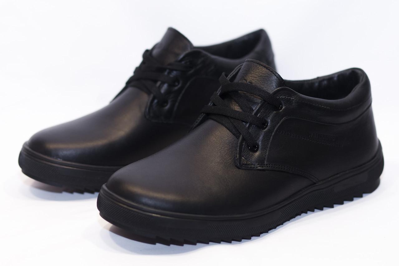 Зимние ботинки (НА МЕХУ) мужские ECCO (реплика) 13059 ⏩ [ 41,42,42,45 ]